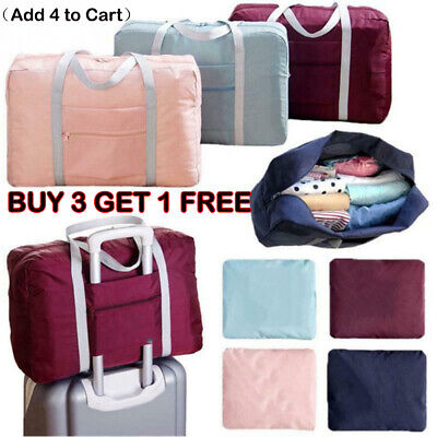 Foldable Large Bag duffel Luggage Storage Waterproof Travel Pouch Tote Bag R