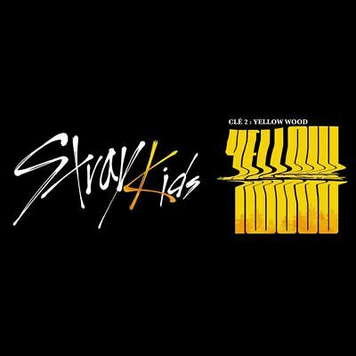 STRAY KIDS Clé 2 : Yellow Wood Limited Ver. CD+Photobook+Photocard+Etc+Tracking