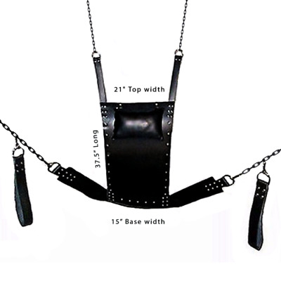 Sling Sex Hammock Sex Swing Chair Leather Sex bed Play RooFun Bondage BDSM