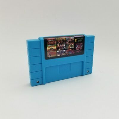 Super 49 in 1 Best Games Cartridge 16 Bit Multicart NTSC SNES Super Nintendo US