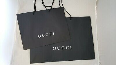 Gucci Bag Paper Carrier Bag Retail Shopping Bag Luxury Gift Bag only £ 1