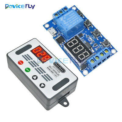 5V Automation Delay Timer Controller Switch Relay Module LED Display Micro USB