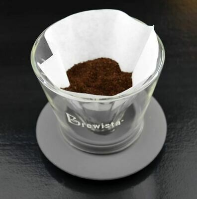 Coffee Set: Full Cone Glass Dripper With Full Cone Filters (100pc)