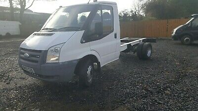 2011 Ford Transit Mwb 140 6 Speed T350 Chassis Cab Low Mileage Ex Bt