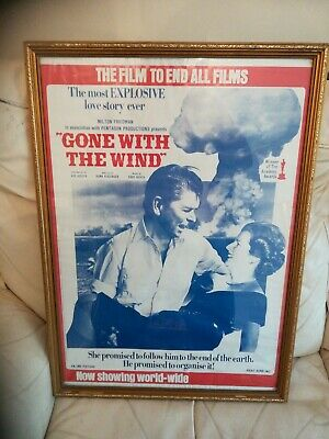 1980s Gone with the Wind Ronald Reagan Margaret Thatcher Socialist Worker Poster