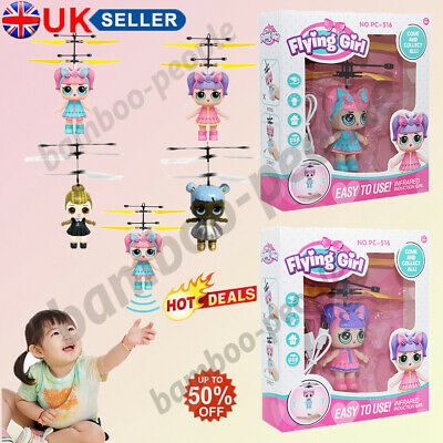 LOL Flying Toys Girls Surprise Doll Magic Infrared Induction Control Xmas Gifts