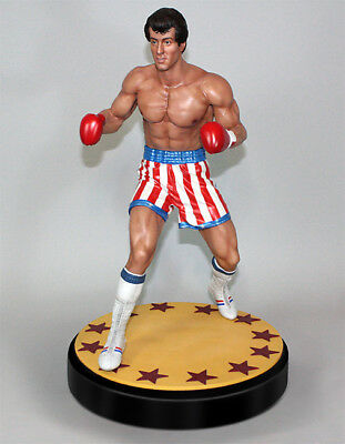 Rocky Balboa Sylvester Stallone 1/4 Polystone Statue Hollywood Collectibles