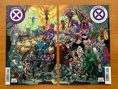 HOUSE OF X 6,  POWERS OF X  6 Garron Connecting Set Marvel 2019 NM-
