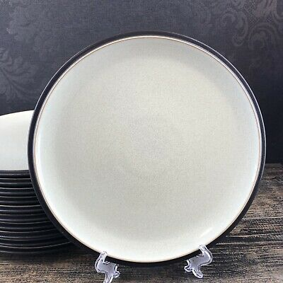 "1 Of 11 Denby Langley Juice Apple 10.5"" Dinner Plate Green Stoneware England"