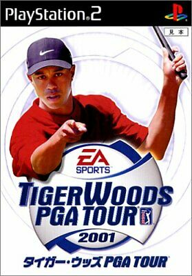 USED PS2 Tiger Woods PGA TOUR 2001