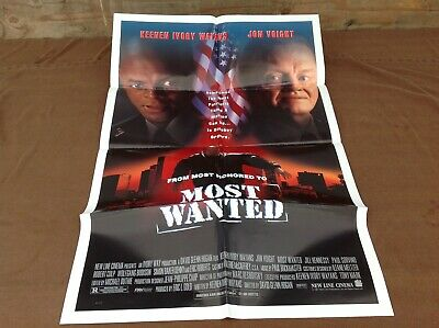 1997 Most Wanted Original Movie House Full Sheet Poster