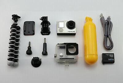 Gopro Hero 4 Silver Edition Camcorder 1080P Hd Card Action Digital Video Camera