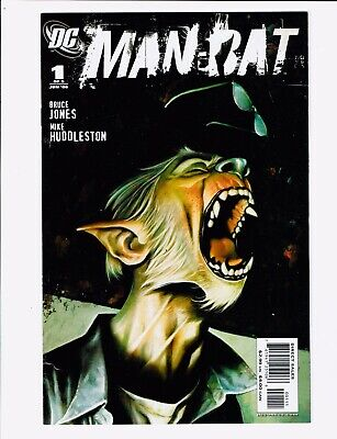 🖤Man-Bat #1-3 Dc Comics 2006 Batman Bruce Jones Mike Huddleston Vf-Nm🖤