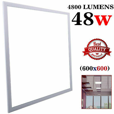600x 600x 9mm LED Panel 48W Recessed Ceiling  -Cool White 6500k with Driver