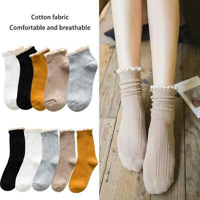 12X Pairs of Women Ladies Frilly Lace Top Cotton TRAINER Ankle Anklet Socks Girl