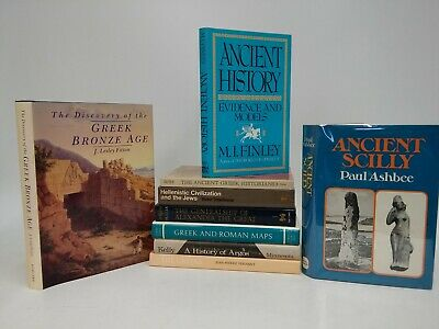Lot of 9~ Ancient Greece~Greeks~Helenistic~Bronze Age~Maps~Alexander the Great