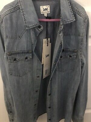 Lee Denim Shirt Girls  Age 12 New With Tags