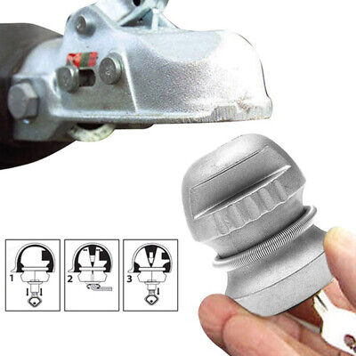 1pc Universal Hitchlock Trailer Hitch Coupling Lock Tow Ball Lock Caravan Lock^F