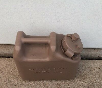 RARE! US ARMY NEW Scepter Sand Tan Jerry WATER Can REAL Military MWC 2.5gl 10L