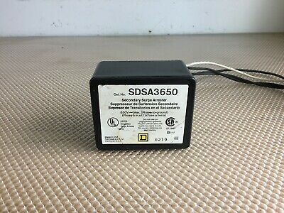 Square D Sdsa3650 Secondary Surge Arrestor