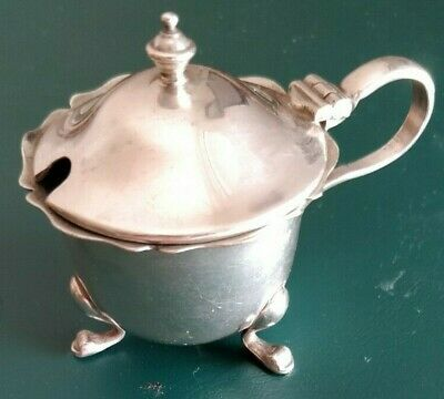 Silver Plated (EPNS) Mustard or Salt Pot