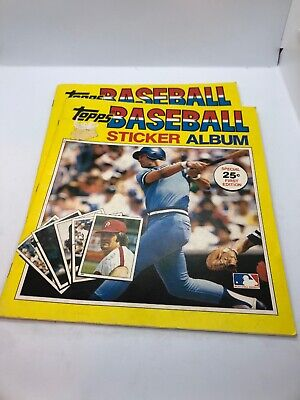 Topps Baseball Sticker Album 1981
