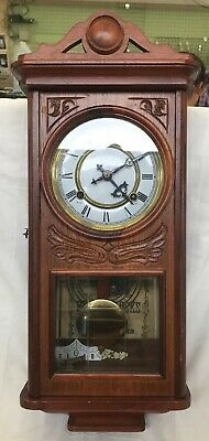 Waterbury Clock Company 8-day And 30 Hour Brass Clock