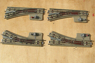 Four Pairs Vintage Hornby Dublo Isolating Points In Good Condition. Unboxed