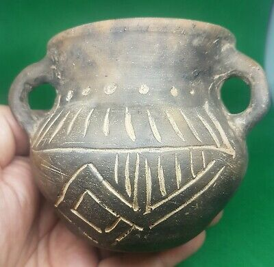 Very rare Clay,Pottery ,  Ritual Vessel , Bronze Age circa 2300-1800 BC