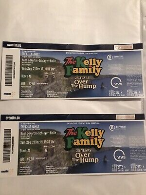 tickets konzert The Kelly Family
