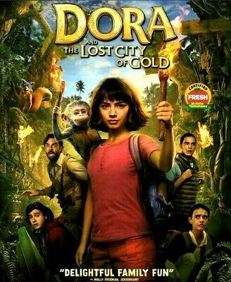 Dora and the Lost City of Gold [DVD] [2019] NEW*Comedy, Family*SHIPS ON 11/19/19