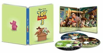 Disney Toy Story 3 4K Ultra HD + Blu-ray Steelbook (VG)