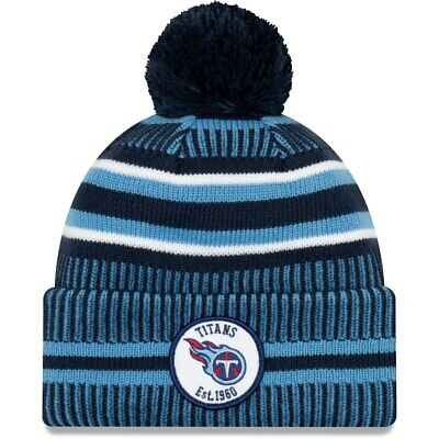Tennessee Titans 2019 Nfl New Era Sideline Home Official Sports Knit Hat Beanie