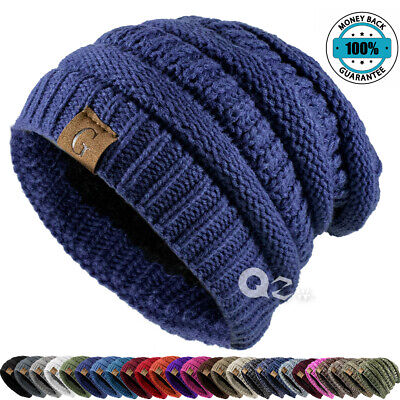 Lake-OD USA New Jersey State Flag Thin Baggy Slouchy Knit Beanie Hat Hip-hop Skull Cap for Mens and Womens