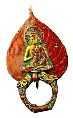 Blessing Buddha Shape Antique Vintage Finish Handmade Brass Door Knocker Knob