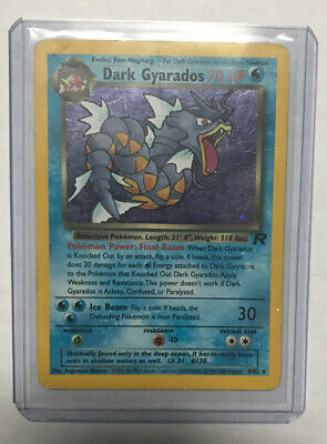Pokemon Team Rocket 8//82 Prerelease DARK GYARADOS Holo Amazing//Mint Condition