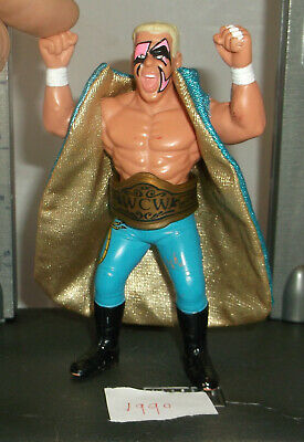 WWE WCW TNA NXT Wrestling Action Figure - Sting - With Belt & Jacket