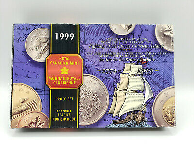 1999 Canada Proof Set **225 Anniversary of the Voyage of the Juan Perez**