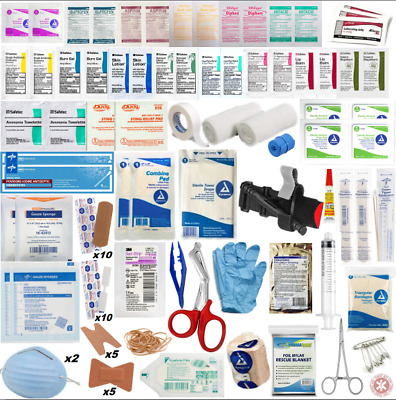 First Aid Kit Emergency Bag Outdoor Survival Home Care Travel Pack High Quality