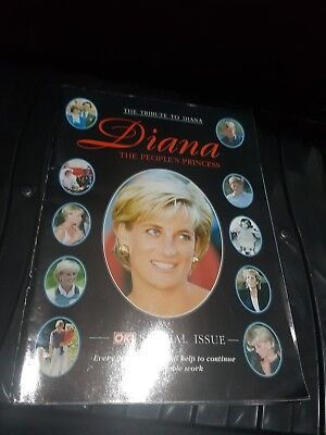 The Peoples Princess A Tribute To Diana  Ok! Magazine Special Issue