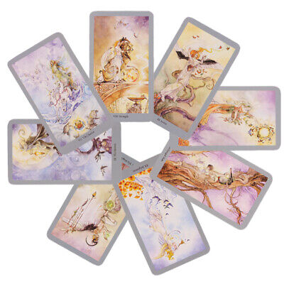 Games Witch Tarot Deck Fate Indicator Forecasting Future Telling 78 Cards Oracle