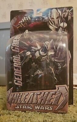 Star Wars Unleashed GENERAL GRIEVOUS Action Figure Episode III - New in box