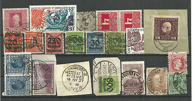 Mixture Of Stamps Used.