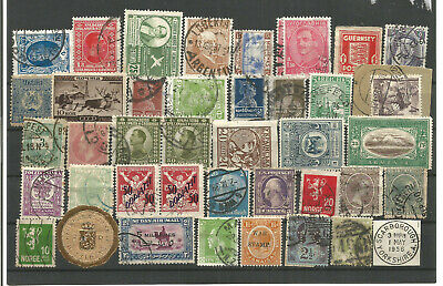 World Mixture Of Stamps Used.