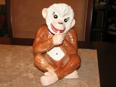 Hand Painted Statue of a cute Monkey very nice