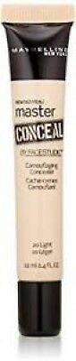 NEW and SEALED!! Maybelline MASTER CONCEAL Concealer #20 LIGHT