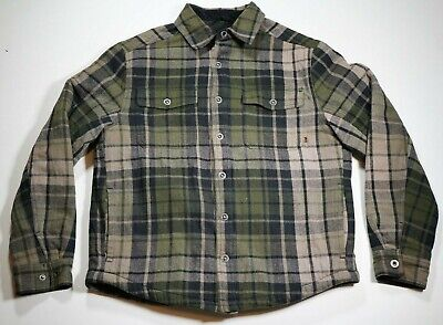 Gander Mountain Guide Series Men/'s Plaid Twill Shirt X-Large Castlerock Grey