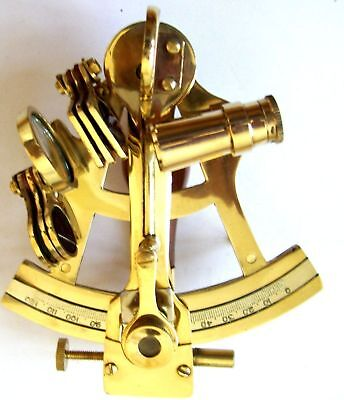 Sextant Nautical Working Instrument Astrolabe Ships Maritime Gift