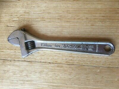 Sidchrome 150mm 6in Forged Steel Shifter/Wrench vintage