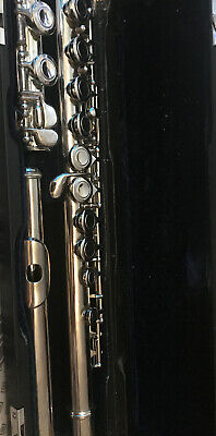 Wagner Intermediate C  Flute in Hard Black Carry Case Suit Student
